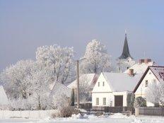 Soběnov v zimě